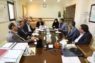 جلسه مسئول بسیج علمی و رئیس دانشگاه علوم پزشکی قزوین