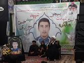 برگزاری سالگرد دانش آموز شهید سید حسن سواری در اهواز