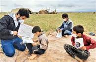 شرکت ۵۰ نفر از دانش آموزان روستای حاجی آبادبیرجند در پالایش سلامت