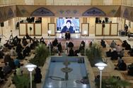 مراسم اربعین نخبه حوزوی استان یزد از نگاه دوربین
